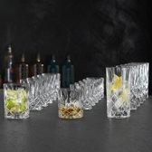 Nachtmann Noblesse voordeelset 6 SOF, 6 Whisky tumblers en 6 longdrink glazen