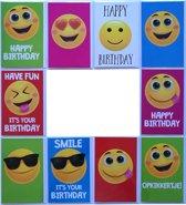 Verjaardagskaarten - Happy Birthday - Set van 10 -- L-002