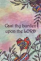 Cast thy burden upon the LORD: Dot Grid Paper
