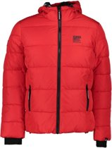 Superdry TAPED SPORTS PUFFER S Red