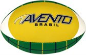 Avento American Football - Soft Touch - Geel/Blauw/Wit/Groen