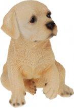 Labrador honden beeldje voor binnen 17 cm