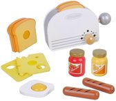 Mama Memo Broodroosterset Hout 20 X 13 X 6 Cm