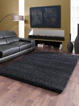Vloerkleed Shaggy Deluxe 5533-90 Black-Melange 120x170 cm