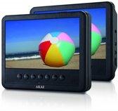 Akai ACVDS738T - Portable DVD-speler met 2 schermen - 7 inch