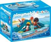 PLAYMOBIL Waterfiets met glijbaan - 9424