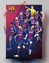 FC Barcelona - spelers 2018  - Poster 61 x 91.5 cm