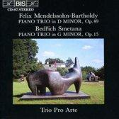 Mendelssohn, Smetana: Piano Trios / Trio Pro Arte