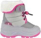 Winter-grip Snowboots Hoppin' Bieber Meisjes Lichtgrijs/roze Mt 35