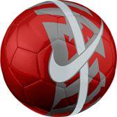 Nike React Voetbal - Maat 5 - Rood - Grijs