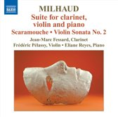 Milhaud: Suite For Clarinet