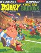 Boek cover Astérix chez les Bretons van Rene Goscinny