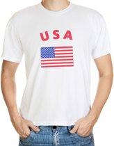 T-shirt vlag USA L