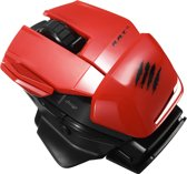 Madcatz Mobile Office R.A.T. M  Wireless Gaming Muis - Rood (PC)