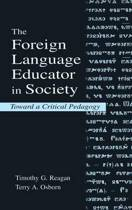 The Foreign Language Educator in Society