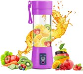 Draagbare Smoothie Blender - Portable blender - Paars - Smoothie