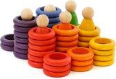 Grapat Speelgoed  Nins munten en ringen