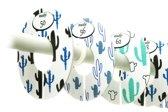 Onaroo – maathangers – baby accessoire –  babykamer – maat 50 tm 92 – 7 stuks – BOWIE