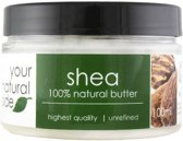 Your Natural Side Shea Organic Butter, Unrefined 100ml.
