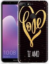 Huawei Y7 2018 Hoesje Ti Amo