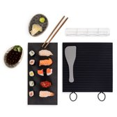Sushi Set, Sushi Maker Kit, Siliconen Mat, voor Uw perfecte Sushi