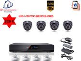 Home-Locking ip-camerasysteem poe 4 x 1080P set 4