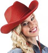 Rode cowboyhoed vilt