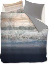 Beddinghouse Oakville Dekbedovertrek - Tweepersoons - 200x200/220 cm - Blauw Grijs