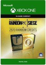 Tom Clancy's Rainbow Six: Siege - 2670 Rainbow credits - Xbox One