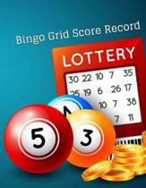 Bingo Grid Score Record