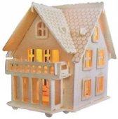 Bouwpakket Villa Huis Huisje B- hout