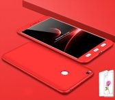 Teleplus Xiaomi Mi Max 2 360 Full Protected Cover Red + Glass Screen Protector
