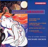 Arnold: Concerto for 28 Players, etc / Richard Hickox, et al