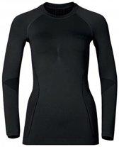 Odlo Evolution Warm - Sportshirt - Dames - Zwart - Maat L
