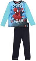 Spiderman pyama blauw maat 98