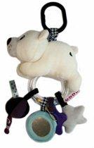 Label Label wandelwagen speeltje ijsbeer Ijsbeer