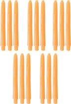 Dragon Darts dart shafts - 5 sets (15 stuks) - Med - oranje - darts shafts