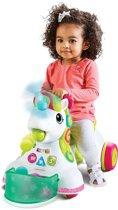 Infantino Smilin Shimmer Sensory 3 in 1 Ride on Unicorn Shimmer Multi colour