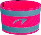 Avento - Sportarmband - Reflecterend - Fluorroze