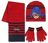 Muts, Sjaal en Handschoenen Lady Bug