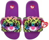 Ty Fashion - Beanie Babies - Kinderslippers - Dotty - Maat L (36-38)