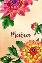 Maria: Personalized Journal for Her (Su Diario)