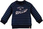 Babyface Jongens Sweatshirt - Navy - Maat 98