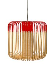 Forestier Bamboo Light Hanglamp Medium Rood