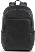 Piquadro Blue Square S Matte Small Size Computer Backpack Black