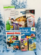 Kerstpakket non food voor het hele gezin - cadeaupakket - voor mannen vrouwen kind - kerst pakket kerstpakketten doos