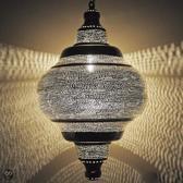 Nour Lifestyle Arabische hanglamp Basha met gaatjes - maat XL