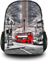 Sleevy London - Rugzak - Kinderen - Multi colour