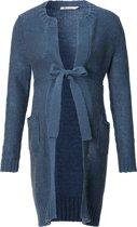 Queen Mum Vest - Blue - Maat XS