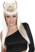 Blonde Lady Gaga look a like pruik